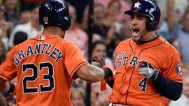 Springer 3 HRs, Verlander 20th win, Astros clinch AL West