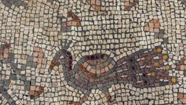 Mosaic discovered in Israeli 'Burnt Church' may depict Jesus' miracle of the loaves and fishes