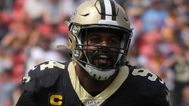 New Orleans Saints' Cam Jordan jabs referees after blown fumble call