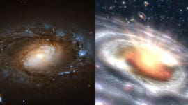 'Dramatic' black holes stun scientists as 'wimpy' galaxies quickly transform into 'ravenous' quasars
