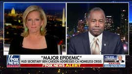 Ben Carson: California homeless crisis must be addressed before it becomes 'major epidemic'