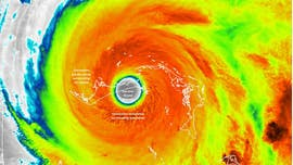 Hurricane Dorian's monstrous size revealed in epic images from space