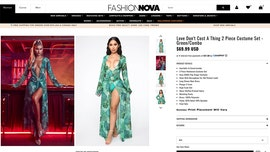 Fashion Nova debuts skimpy Halloween costumes inspired by pop stars