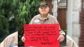 World War II veteran requests 100 cards for 100th birthday, goes viral