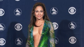 Jennifer Lopez closes Versace fashion show in new, sexier version of that iconic green dress