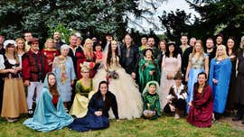 'Lord of the Rings' and 'Game of Thrones' fans marry in fantasy-themed wedding ceremony