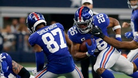 New York Giants' Sterling Shepard says he played with likely concussion against Dallas Cowboys