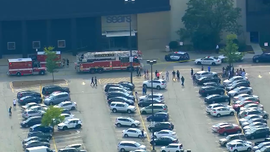 SUV barrels through shopping mall in Chicago suburb