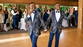 Couple surprises wedding guests with secret flash mob dance routine: 'There was a lot of cheering'