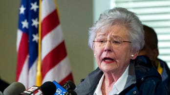 Alabama Gov. Kay Ivey says she's being treated for lung cancer