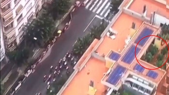 Helicopter covering Spain's La Vuelta cycling race exposes rooftop weed plantation, 40 cannabis plants seized