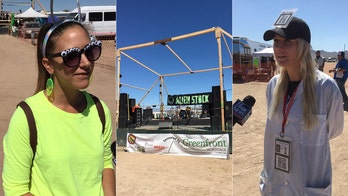 'Storm Area 51' fizzles, with 1 event canceled; but alien 'believers' still revel in 'primal state'