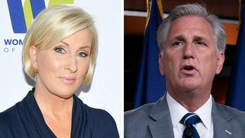MSNBC host Mika Brzezinski attacks 'pathetic' Kevin McCarthy: 'He just has no self-respect'