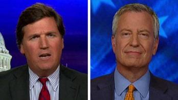 Bill de Blasio tells Tucker Carlson why he is staying in 2020 Democratic race