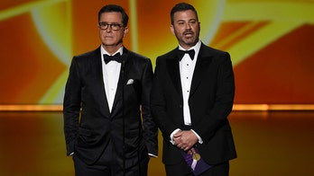 Jimmy Kimmel, Stephen Colbert mock no-host Emmys: 'What a dumb idea'