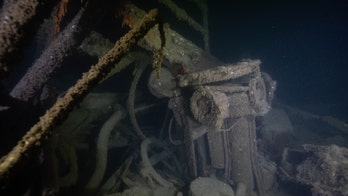 One of the last US warships sunk by a German sub during WWII reveals its secrets in eerie images from seabed