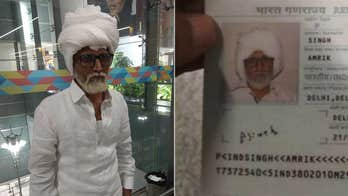 Young man at Indian airport tries sneaking on flight by disguising himself as 81-year-old
