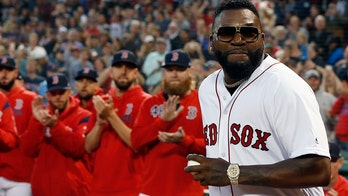 David Ortiz throws out first pitch at Fenway Park months after shooting