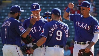 Texas Rangers catch heat after purposely dropped pop-up leads to Mike Minor's 200th strikeout
