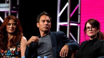 鈥榃ill & Grace鈥� star Eric McCormack addresses 鈥榗razy鈥� rumors of alleged Debra Messing, Megan Mullally feud
