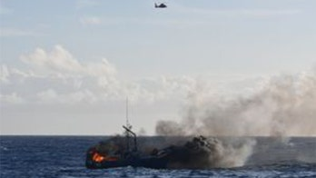 Commercial fishing vessel catches fire, sinks off Hawaiian coast
