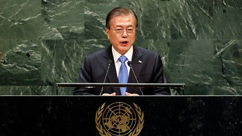 South Korean president calls for economic engagement with North Korea at UN General Assembly
