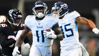 Tennessee Titans' AJ Brown receives support from Atlanta Falcons star Julio Jones