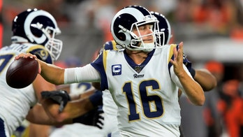 Rams' Jared Goff preparing to play games in front of fans, sours on alternative