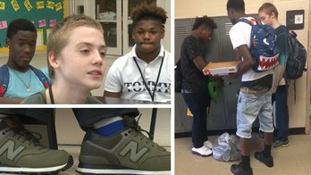 Tennessee student bullied for wearing same clothes gets special gifts from classmates