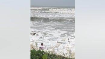 Boy rescued from fierce Atlantic Ocean tide on Florida coast as Hurricane Dorian nears