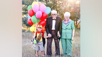 Colorado boy, 5, stages 'Up'-themed birthday photoshoot with great-grandparents