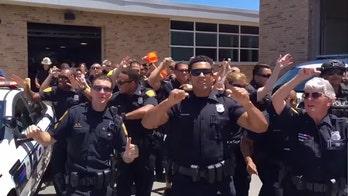 鈥楿ptown Funk鈥� in Norfolk: Virginia cops win national lip sync contest