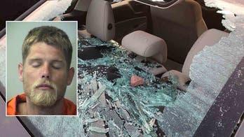 Florida man says he smashed car windows because 'Trump owes me 1 trillion dollars'