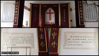 China reportedly censoring Ten Commandments, replacing them with Xi quotes inside churches