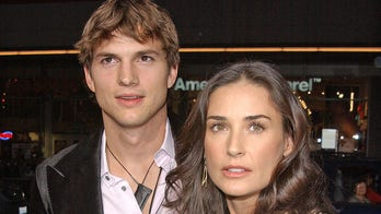 Ashton Kutcher uses Demi Moore drama to direct fans to a message about impeaching Donald Trump