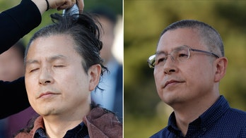 South Korean opposition shave their heads in protest over justice minister
