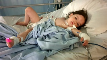 Penny-sized battery found lodged in 2-year-old's throat: 'I nearly lost my little girl'