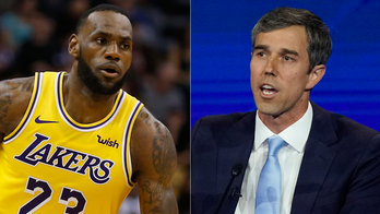Beto O'Rourke picks LeBron James over Michael Jordan as 'greatest basketball player of all time'