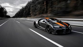 Bugatti Chiron breaks 300 mph, claims production car record