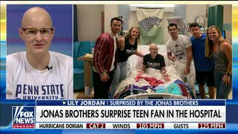 Teen cancer patient who got surprise visit from Jonas Brothers: 'It all started as a joke'