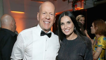 Demi Moore posts throwback photo with ex-husband Bruce Willis from 1987 Emmy Awards