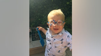 Toddler diagnosed with pediatric cataracts after mom noticed cloudiness in eyes: 'His world was closing in'