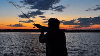 Texas fisherman reels in semi-automatic rifle on lake