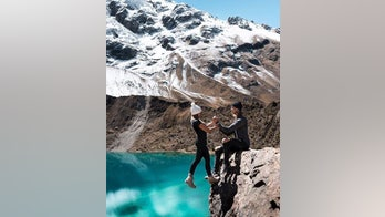 Instagram couple responds to 'scary' dangling photo backlash