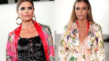Lisa Rinna, Teddi Mellencamp walk in 'RHOBH' co-star Kyle Richards' New York Fashion Week show
