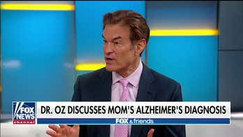 Dr. Oz announces mother has Alzheimer's disease, urges viewers to take preventative actions