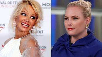 Pamela Anderson clashes with Meghan McCain, Joy Behar while defending 'cyberterrorist' Assange