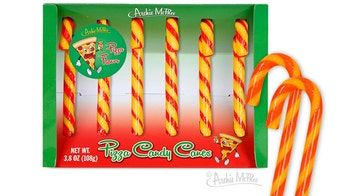 Pizza, kale candy cane flavors roll out well before Christmas