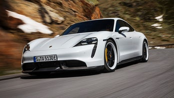 All-electric Porsche Taycan debuts as the world's most powerful sedan