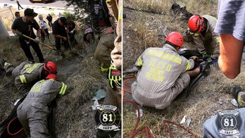Utah man rescued from 12-inch drainage pipe after falling asleep, becoming trapped for hours: officials